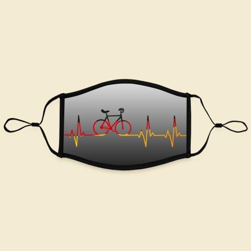 Kunstrad Heart Monitor Maske - Kontrastmaske, einstellbar (Large)