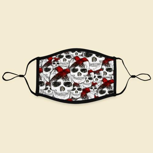 Radball | Skull Maske - Kontrastmaske, einstellbar (Large)