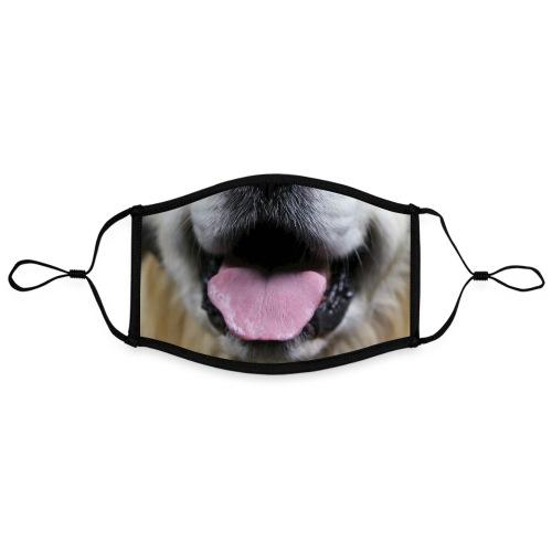 Hundeschnauze - Kontrastmaske, einstellbar (Large)
