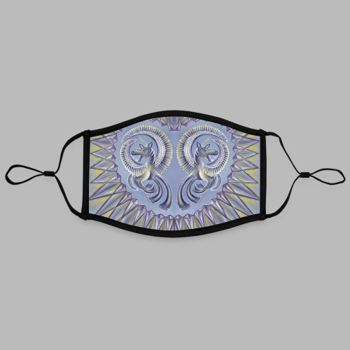Pegasus [face mask] - Contrast mask, adjustable (large)