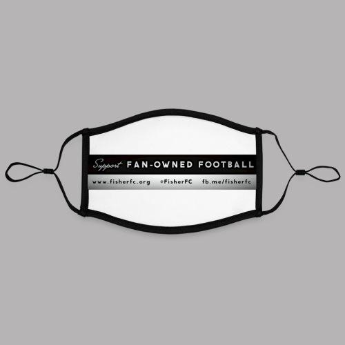 Fan Owned banner - Contrast mask, adjustable (large)