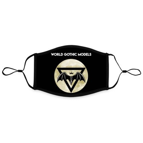 WGM Moon Logo One Side Design - Contrast mask, adjustable (large)