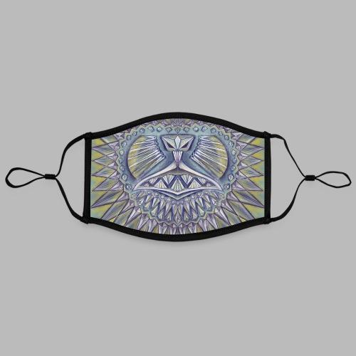 Bling [face mask] - Contrast mask, adjustable (large)