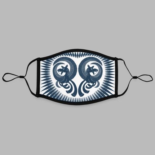 Dark Horse [face mask] - Contrast mask, adjustable (large)