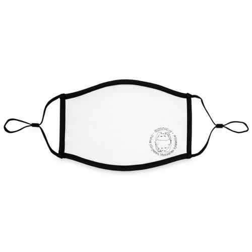 Histoni logo white stroke - Kontrastivärinen maski, säädettävä (large)