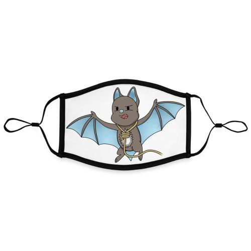 Bat Damon - Contrast mask, adjustable (large)