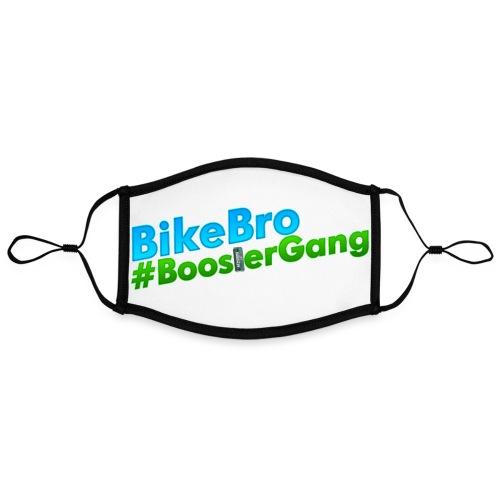 Bikebro #BoosterGang - Kontrastmaske, indstillelig (large)