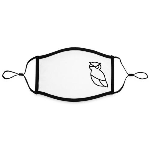 MINERVA - Kontrastivärinen maski, säädettävä (large)