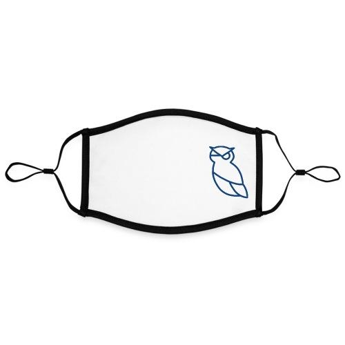 ATHENA - Kontrastivärinen maski, säädettävä (large)