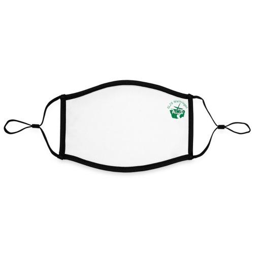 KLJB Wettringen 1x Logo - Kontrastmaske, einstellbar (Large)