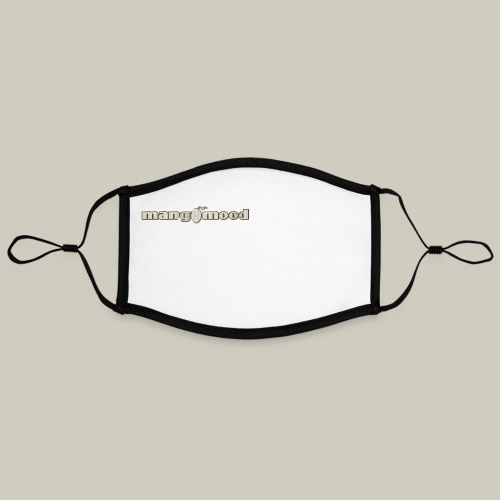 Mangomood Logo - Kontrastmaske, einstellbar (Large)