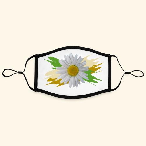 Margeriten Blüte, Blumen, floral, Gänseblümchen - Kontrastmaske, einstellbar (Large)
