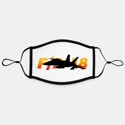 F/A-18 Super Hornet | F 18 | F18 | F/A18 | Hornet - Contrast mask, adjustable (large)