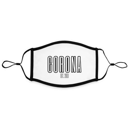 Corona Est2019 - Kontrastmaske, indstillelig (large)