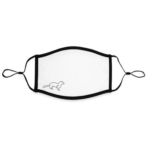 Simpel mink - Kontrastmaske, indstillelig (large)