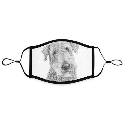 airedale terrier Poster - Kontrastmaske, indstillelig (large)