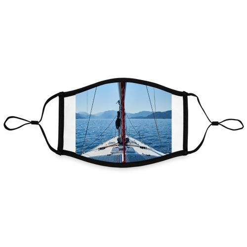 Sailing Printdesign - Kontrastmaske, einstellbar (Large)