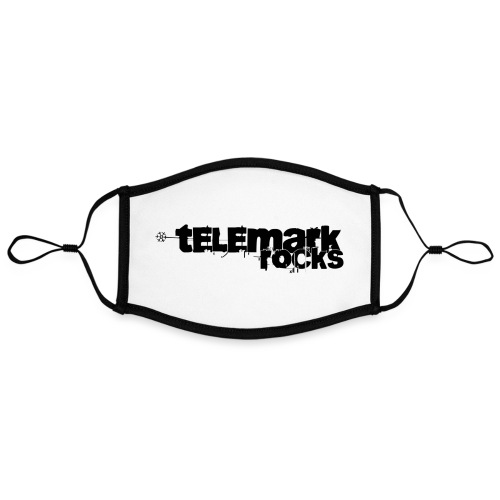 telemark rocks - Kontrastmaske, einstellbar (Large)