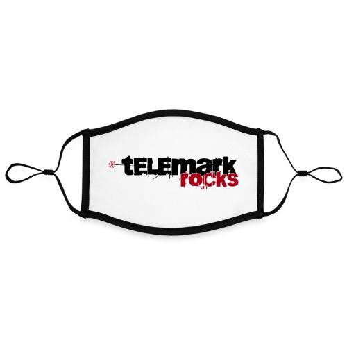 telemark rocks rot - Kontrastmaske, einstellbar (Large)