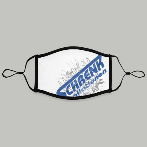 SCHRENKTOOL / bitte max.40°+ links waschen - Kontrastmaske, einstellbar (Large)