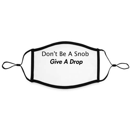 Give a drop - Kontrastmaske, indstillelig (large)
