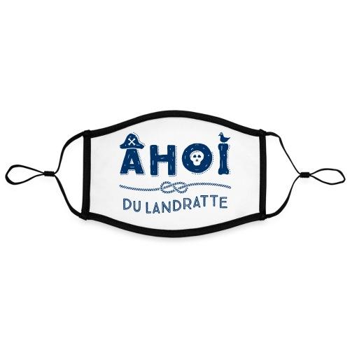 Ahoi du Landratte - Kontrastmaske, einstellbar (Large)