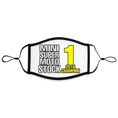 StockChamp - Kontrastivärinen maski, säädettävä (large)