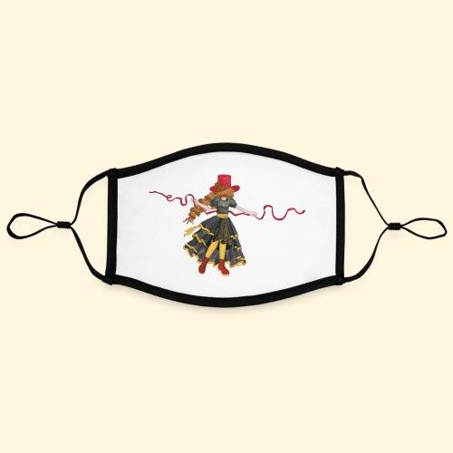 Ladybird - La célèbre uchronaute - Masque contrasté, réglable (taille L)