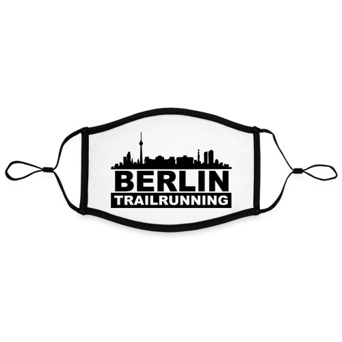 Berlin Trailrunning - Kontrastmaske, einstellbar (Large)