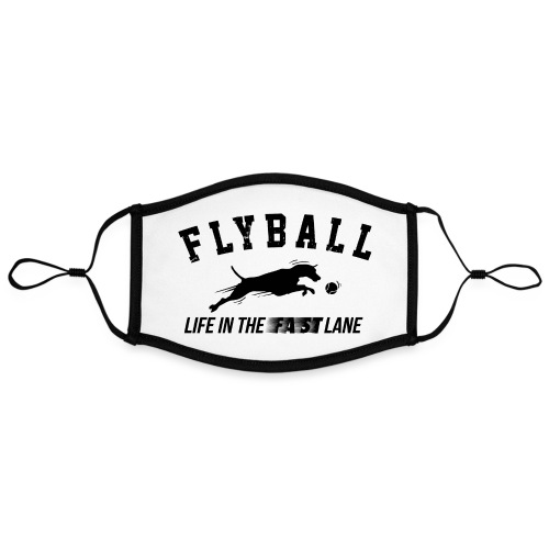 flyball - Contrast mask, adjustable (large)