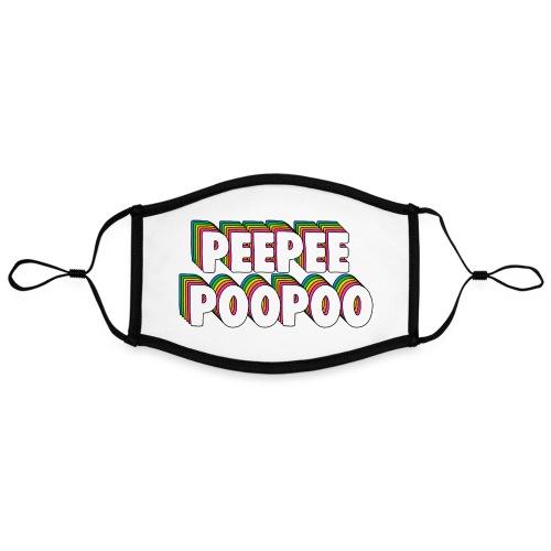 PEEPEEPOOPOO Meme - Contrast mask, adjustable (large)
