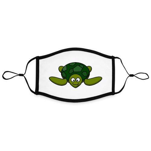 diving turtle Printdesign - Kontrastmaske, einstellbar (Large)