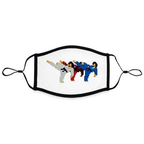 8 bit trip ninjas 2 - Contrast mask, adjustable (large)