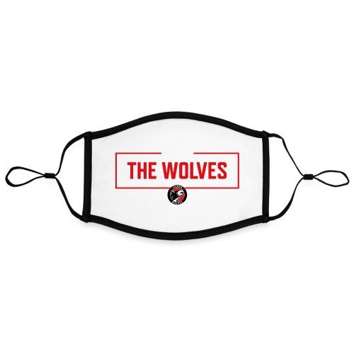 WE ARE THE WOLVES - Kontrastmaske, einstellbar (Large)