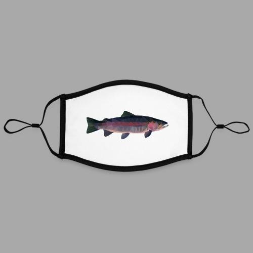 Trout - Kontrastivärinen maski, säädettävä (large)