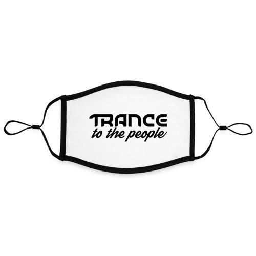 Trance to the People Sort Logo - Kontrastmaske, indstillelig (large)