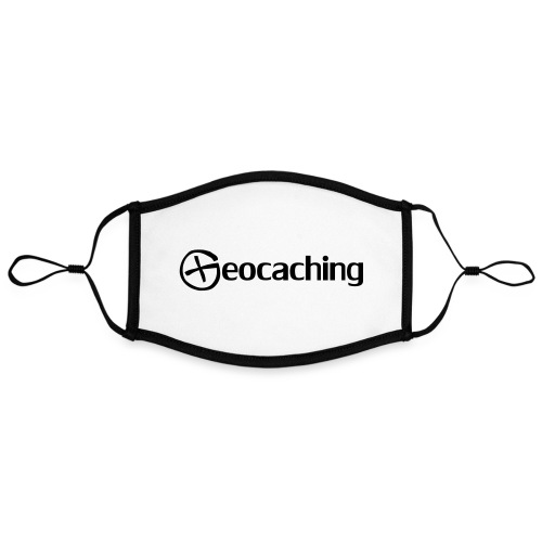 Geocaching - Kontrastivärinen maski, säädettävä (large)