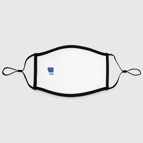 BERLIN SHIRT LOGO - WHITE - Contrast mask, adjustable (large)