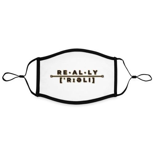 really slogan - Kontrastmaske, einstellbar (Large)
