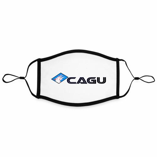 Cagu - Masque contrasté, réglable (taille L)