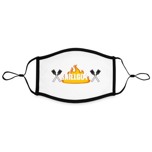 Grillgott Barbecue Experte - Kontrastmaske, einstellbar (Large)