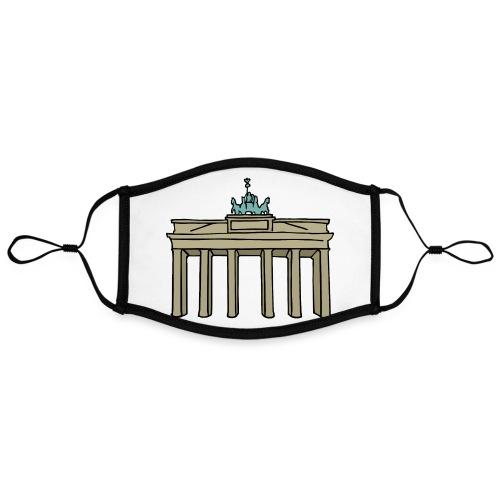 Berlin Brandenburger Tor - Kontrastmaske, einstellbar (Large)