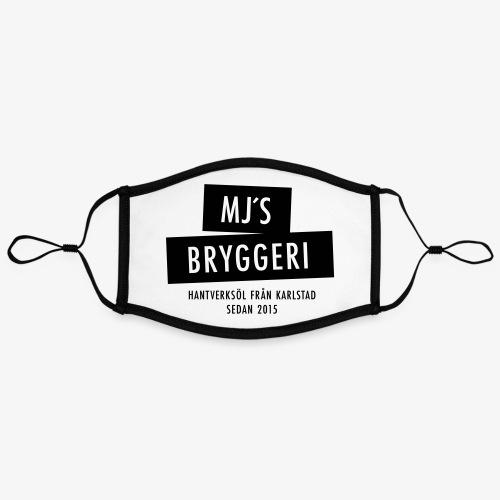 MJs logga - Kontrastmask, justerbar (large)