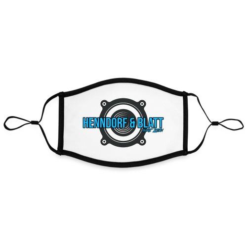 Henndorf & Blatt Kollektion - Kontrastmaske, einstellbar (Large)
