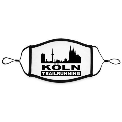 Köln Trailrunning - Kontrastmaske, einstellbar (Large)