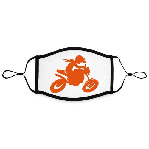 Biker solo - Kontrastmaske, einstellbar (Large)