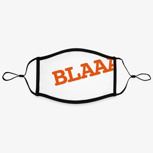 BLAAA schraeg - Kontrastmaske, einstellbar (Large)
