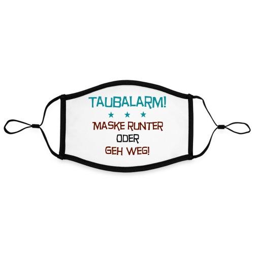 Taubalarm - Kontrastmaske, einstellbar (Large)