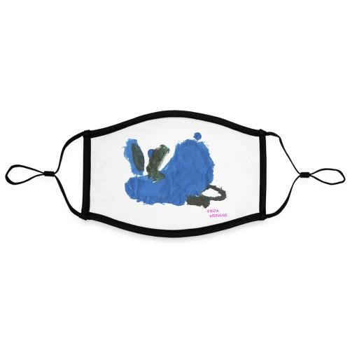 Fauler Hase Designed by Kids - Kontrastmaske, einstellbar (Large)