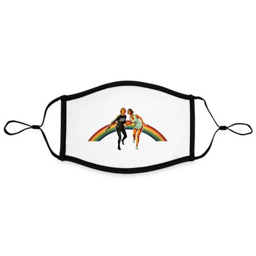 Logans Run Shirt - Kontrastmaske, einstellbar (Large)